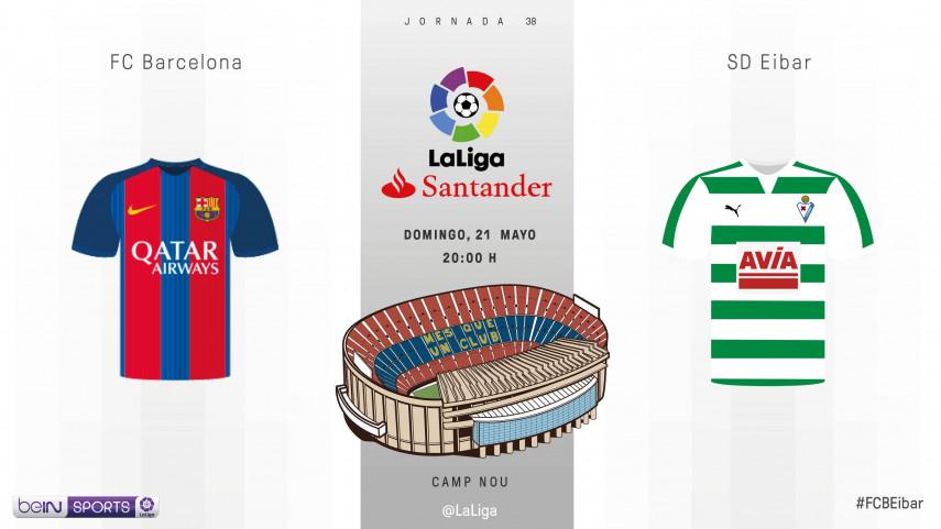 Asalto definitivo al título en el Camp Nou