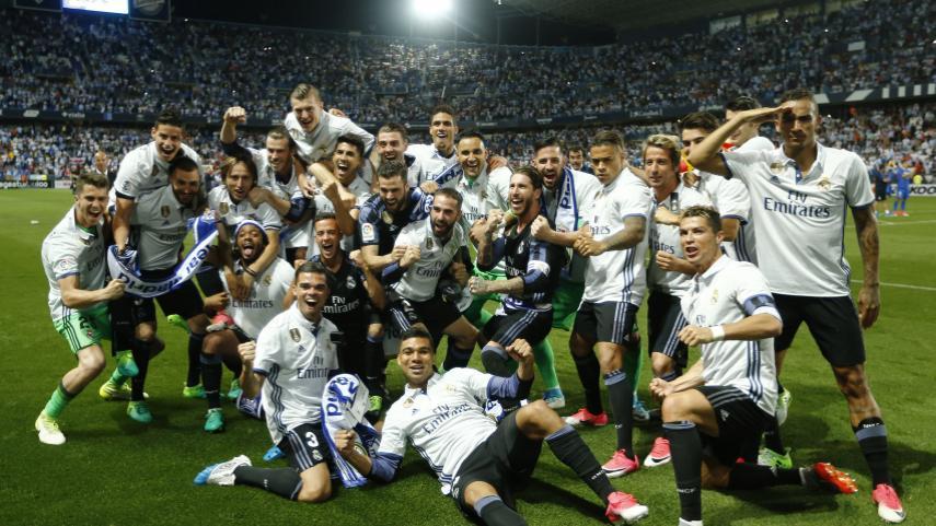 El Real Madrid, campeón de LaLiga Santander 2016/17