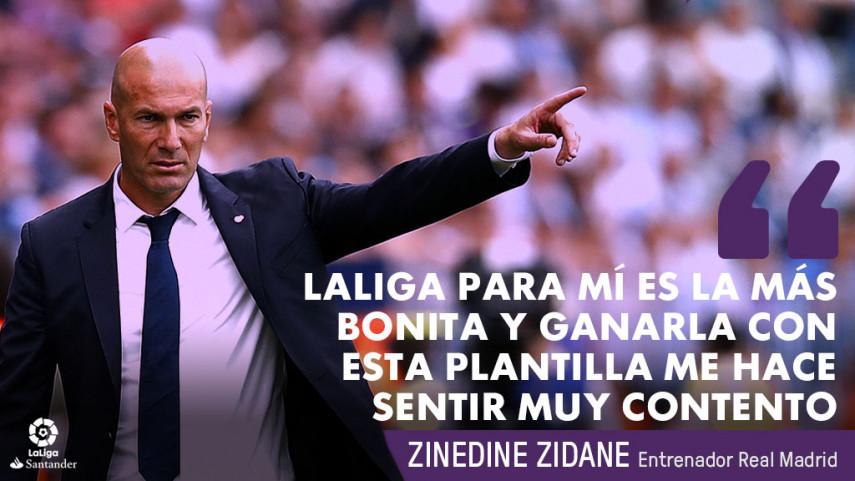 El 33º título de campeón de LaLiga Santander del Real Madrid, en frases