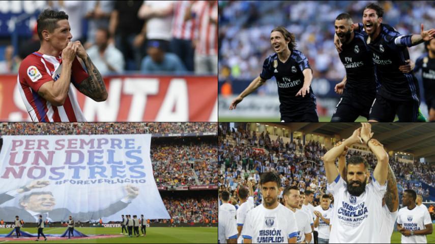 Los números de la jornada 38 de LaLiga Santander