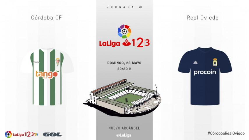 Primera 'final' para Córdoba y Real Oviedo