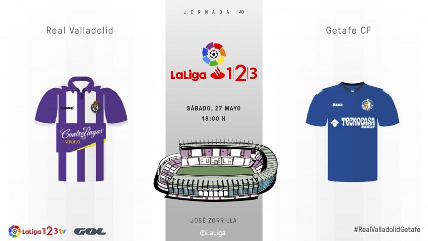 El José Zorrilla acoge un duelo clave por el play-off