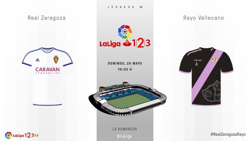 Zaragoza y Rayo quieren aprovechar sus últimas oportunidades