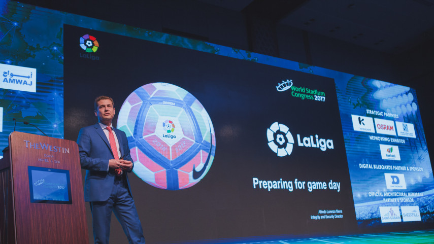 LaLiga participa en el World Stadium Congress 2017