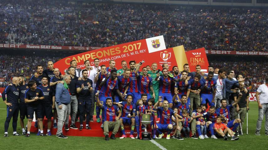 El Barcelona, campeón de la Copa del Rey 2016/17