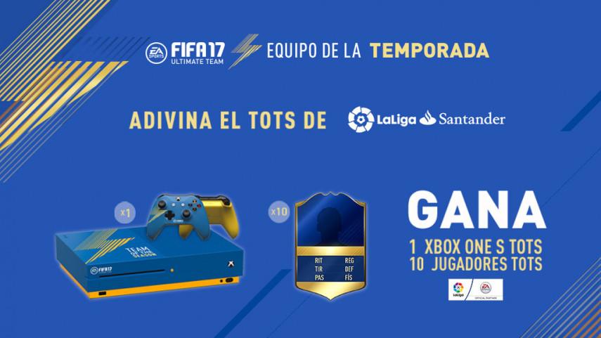 ¿Quién formará el Equipo de la temporada #TOTS de LaLiga Santander en FIFA 17 Ultimate Team?