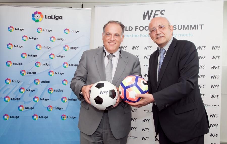 La Liga, fichaje estrella de World Football Summit