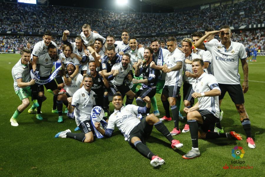 Image result for Real Madrid 2016/17 la liga