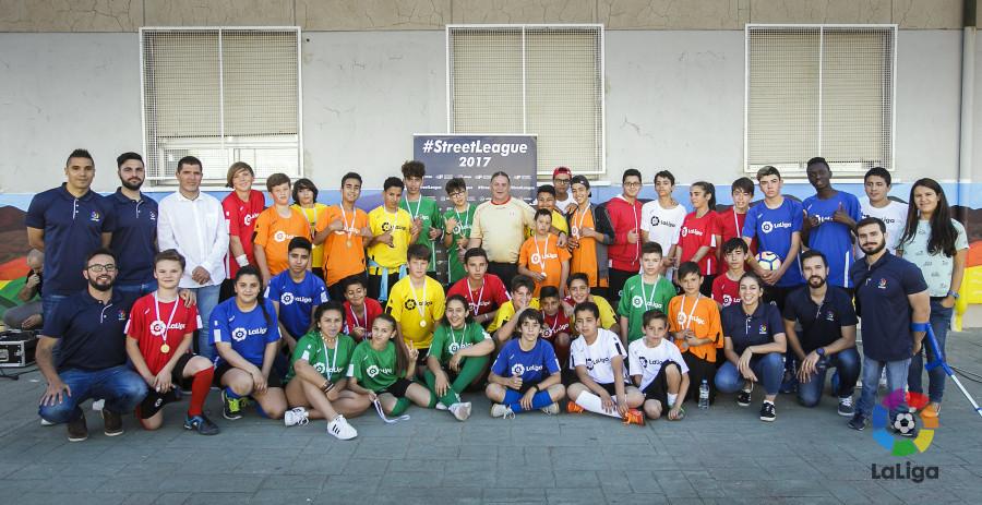 La Fundación de LaLiga clausuró el proyecto 'Street League' en Arroyomolinos