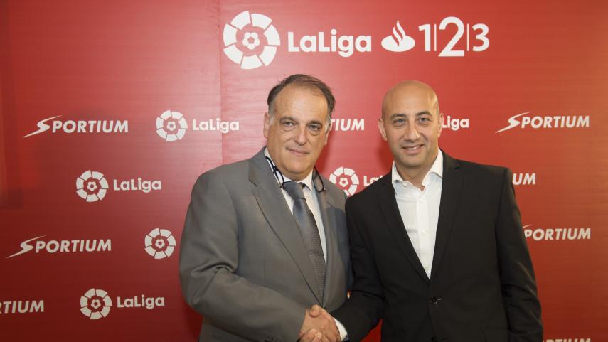 Sportium y LaLiga renuevan su acuerdo de patrocinio para las dos próximas temporadas