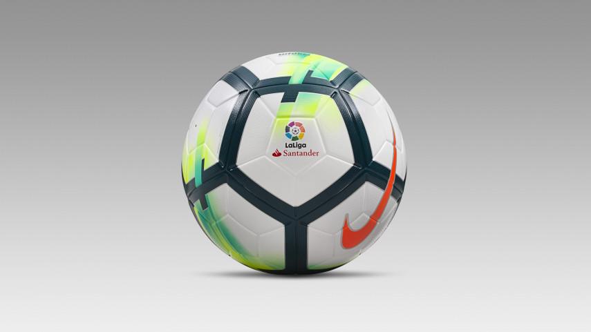 Nike presenta el balón Ordem V de LaLiga Santander para la temporada 2017/18