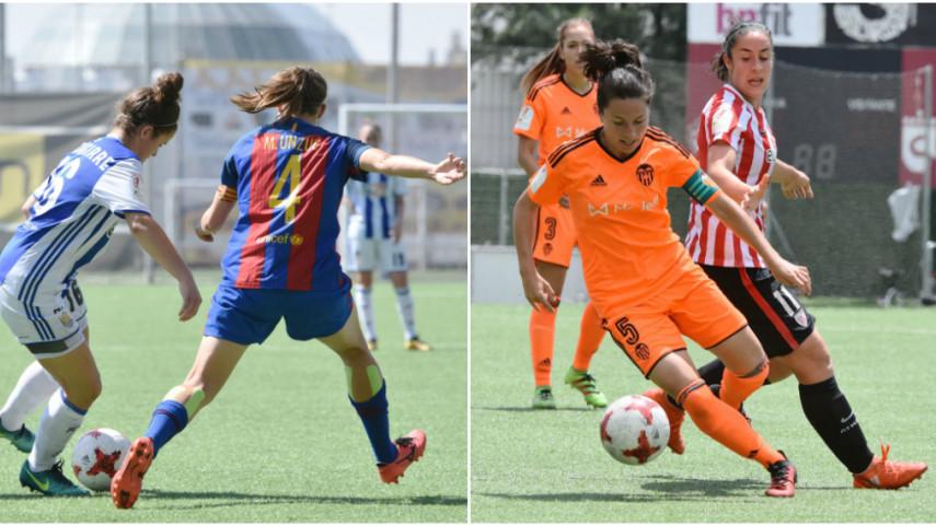 FC Barcelona y VCF Femenino, primeros semifinalistas de la Copa de la Reina
