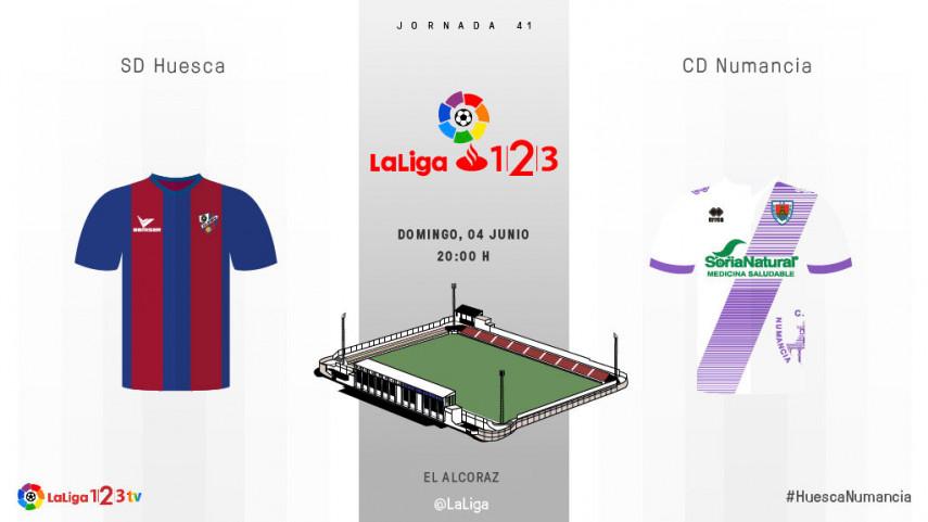 El Huesca no quiere 'reblar' hasta el play-off