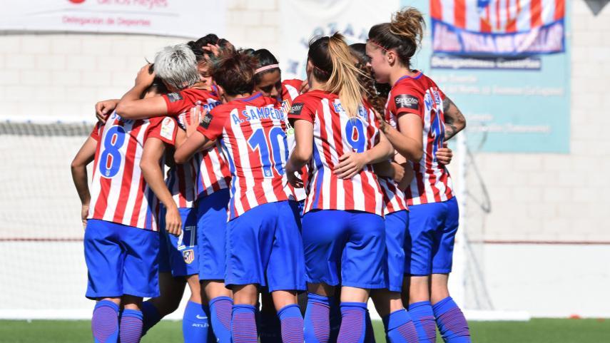 At. Madrid Femenino y Granadilla, segundos semifinalistas de la Copa de la Reina