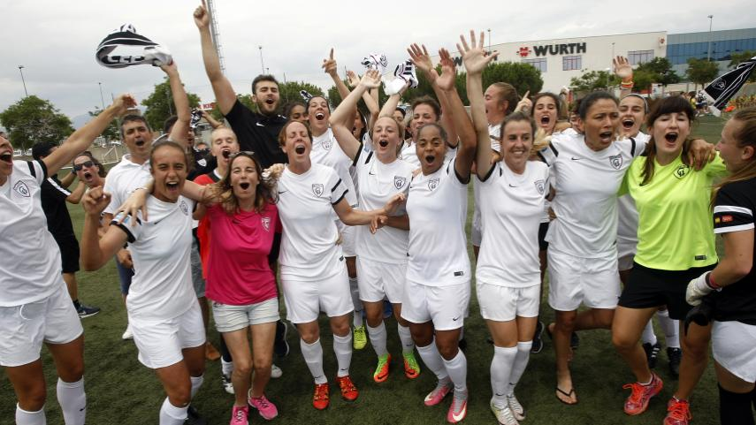 El Madrid CFF asciende a la Liga Femenina Iberdrola