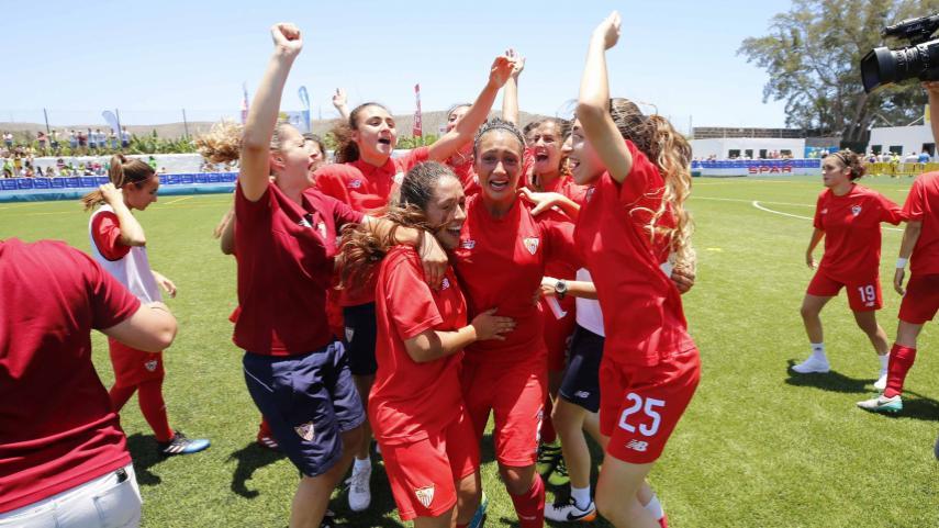 El Sevilla FC, nuevo equipo de la Liga Femenina Iberdrola