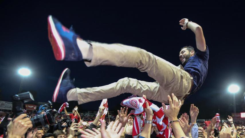 Girona FC win promotion to LaLiga Santander for the first time!
