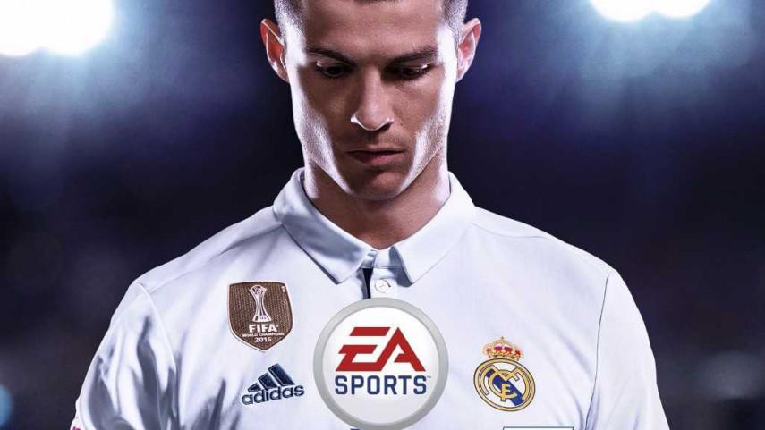 Cristiano Ronaldo será la estrella de la portada de EA Sports FIFA 18