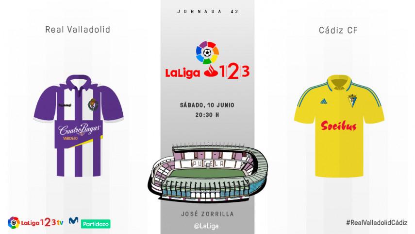El Valladolid se juega el play-off en la última jornada