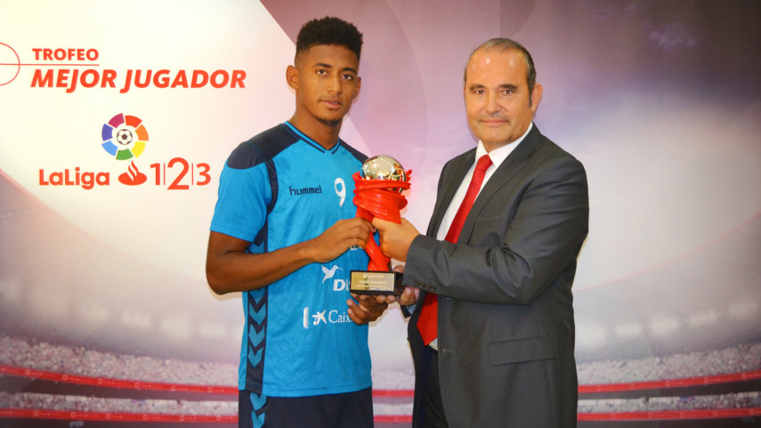 'Choco' Lozano named LaLiga 1|2|3 Player of the Month for May