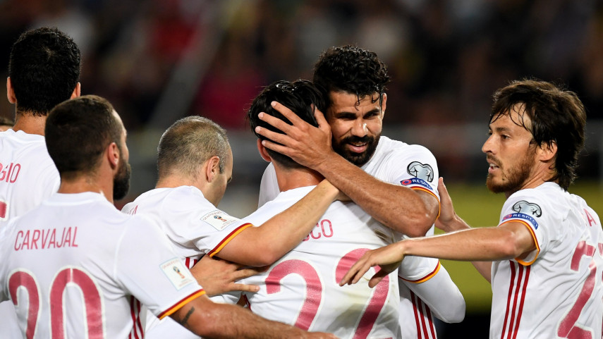 España continúa con paso firme hacia el Mundial 2018