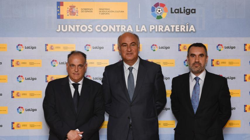 El Ministerio de Educación, Cultura y Deporte y LaLiga colaboran en la lucha contra la piratería en Internet
