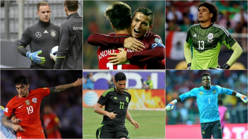 The are 12 LaLiga Santander & LaLiga 1|2|3 players at the Confederations Cup 2017