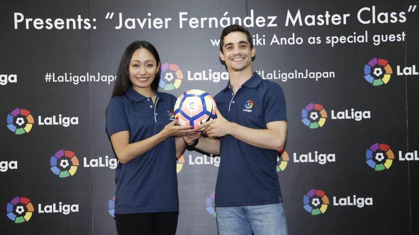 LaLiga y Javier Fernández, juntos en Japón