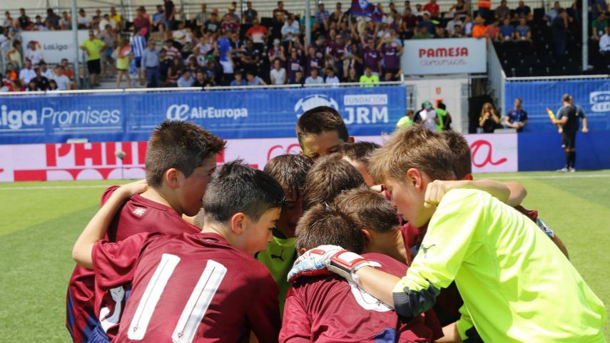 Ilusión, talento y espíritu de equipo en el primer día de LaLiga Promises en Vila-Real