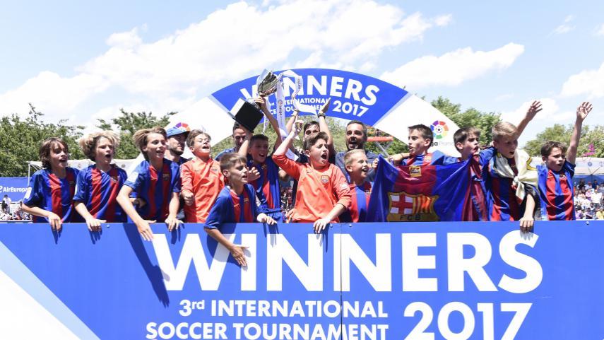 El triunfo del FC Barcelona culmina una gran edición del Torneo Internacional LaLiga Promises en Nueva Jersey