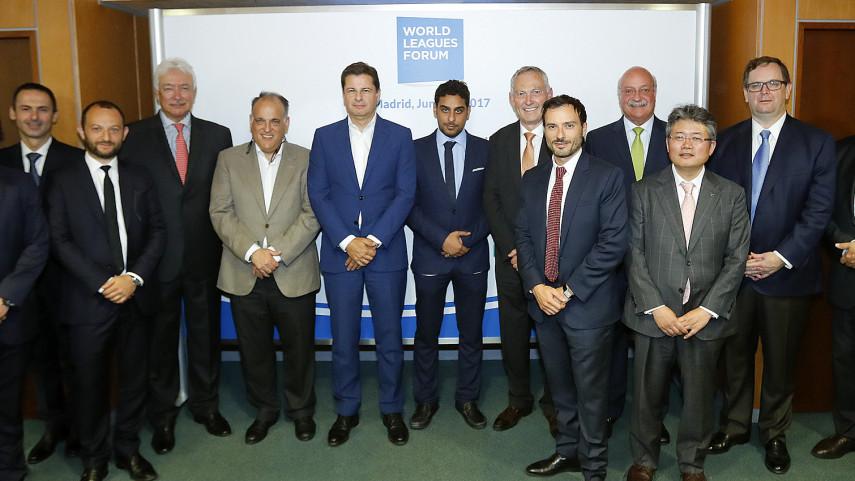 La junta directiva del Foro de Ligas del Mundo (WLF) se reúne en Madrid