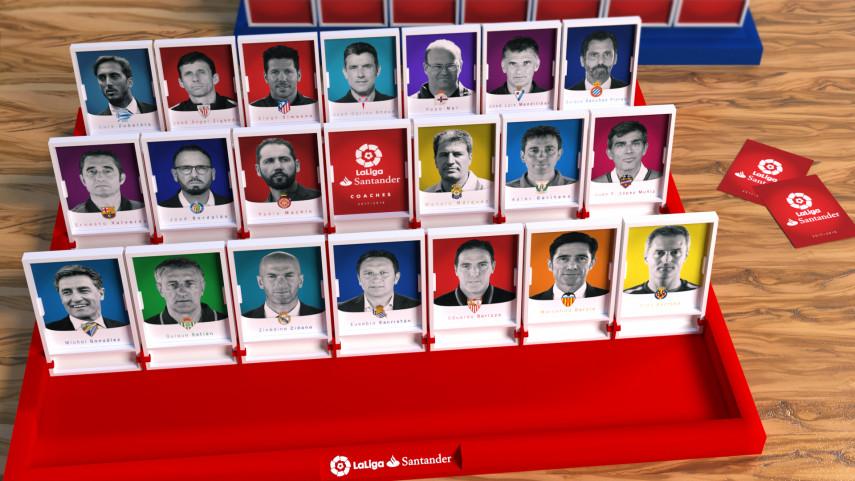 Así quedan los banquillos de LaLiga Santander 2017/18
