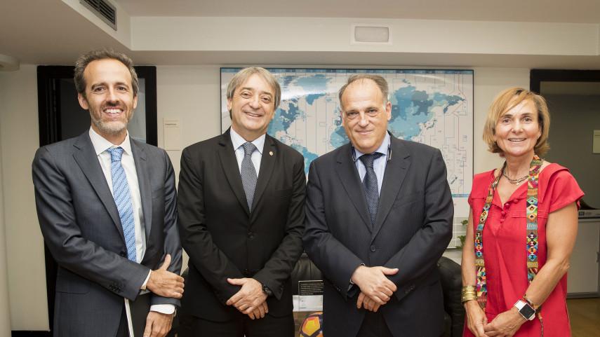 LaLiga y el Consejo Iberoamericano del Deporte colaborarán para salvaguardar el fútbol