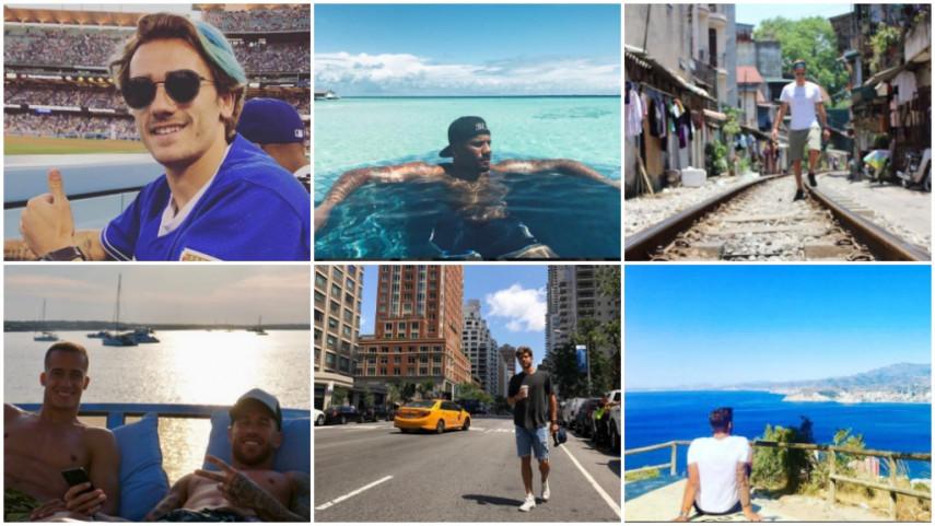 Las 10 cosas más divertidas del verano de los futbolistas