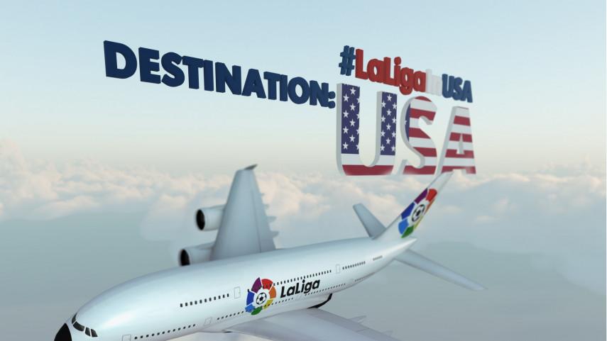 LaLiga desembarca en Estados Unidos