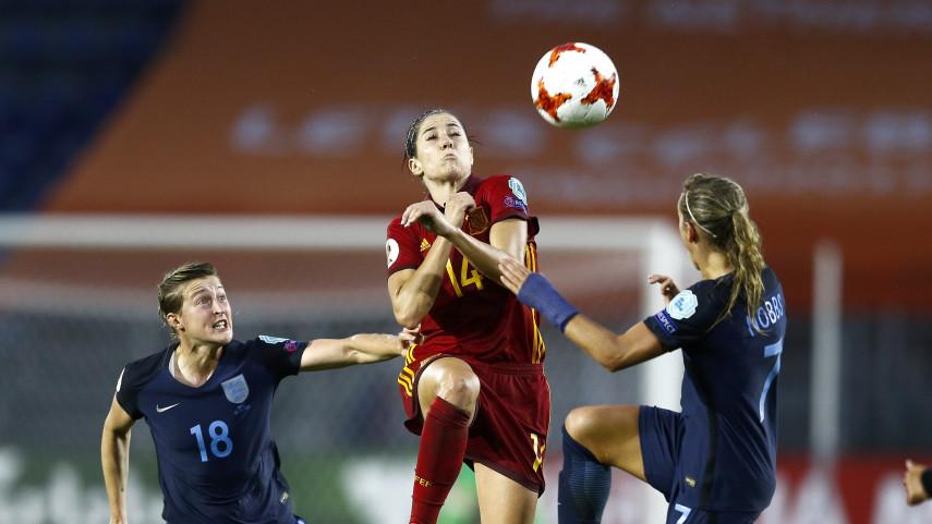 España cae derrotada 2-0 ante una complicada Inglaterra