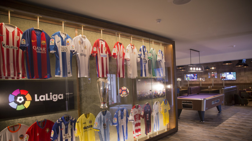LaLiga Corner llega a los hoteles de Palladium Hotel Group para acercar el fútbol a fans de todo el mundo