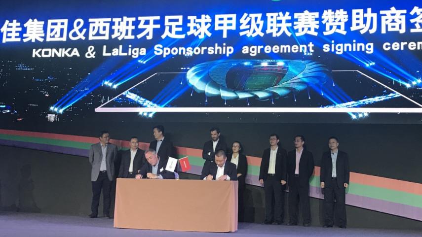 El Grupo Konka y LaLiga se unen para las próximas dos temporadas
