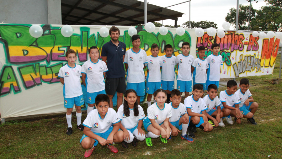 Finaliza el I 'Curso de Scouting' organizado por la Fundación de LaLiga en San Salvador