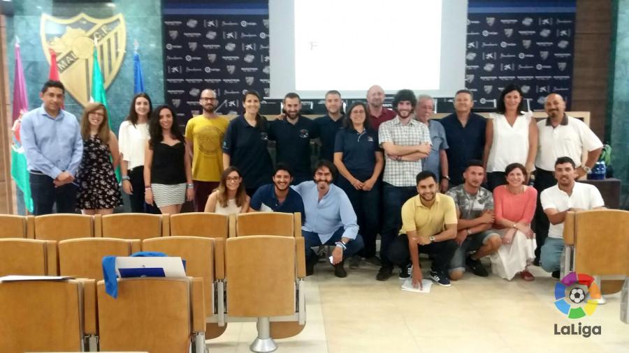Más de 120 profesionales y voluntarios participan en el proyecto 'Voluntariado y Deporte: valores en juego'