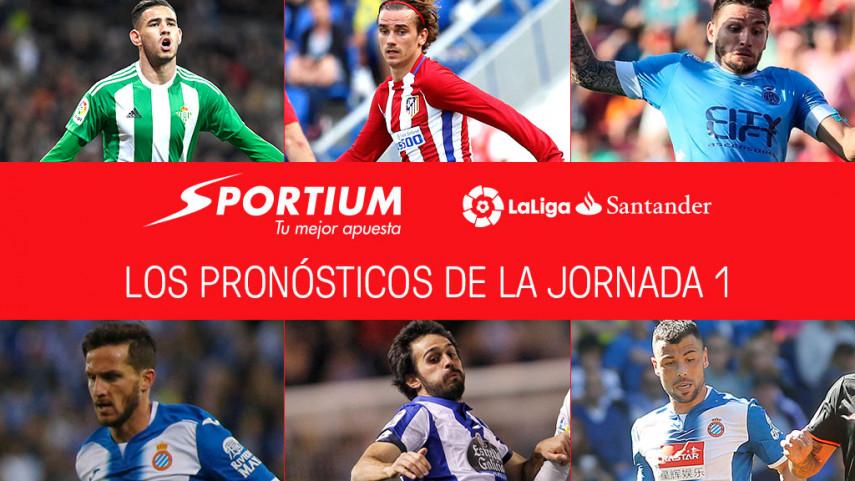 Las recomendaciones de Sportium para la jornada 1 de LaLiga Santander