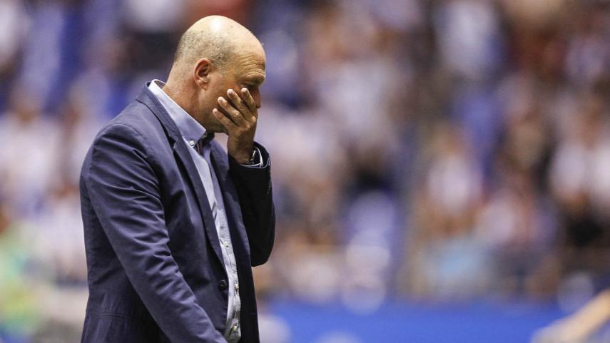 Pepe Mel deja de ser entrenador del RC Deportivo