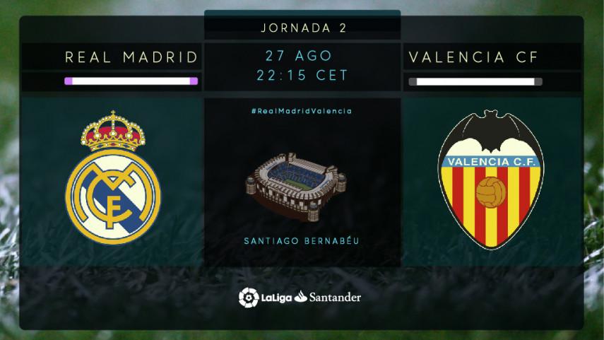 El Real Madrid, a por la primera victoria de LaLiga Santander en el Santiago Bernabéu