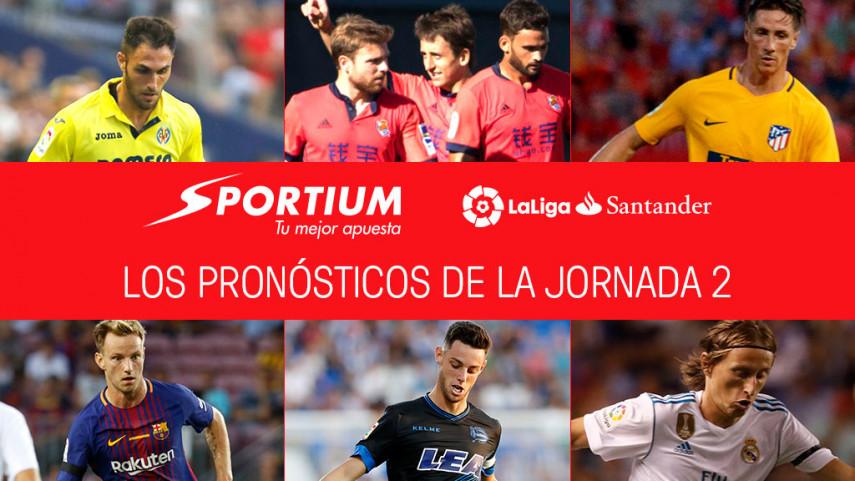 Las recomendaciones de Sportium para la jornada 2 de LaLiga Santander