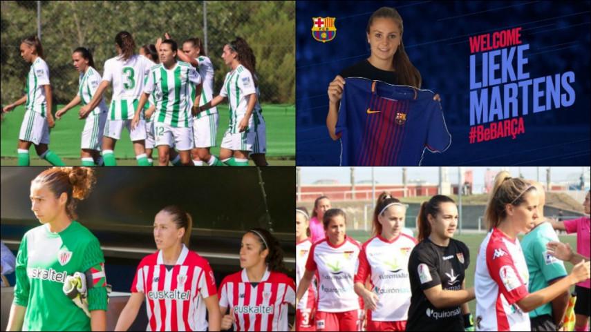 ¿Cuál es tu camiseta favorita de la Liga Femenina Iberdrola?
