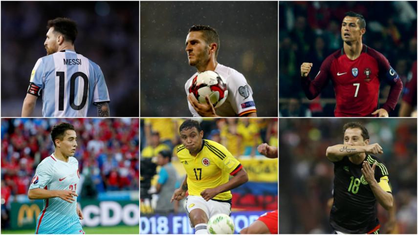 100 jugadores de LaLiga, convocados con sus selecciones absolutas