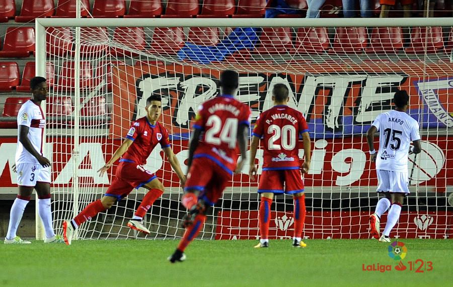 Numancia 1 - Huesca 0 Premio merecido   Imagen 2