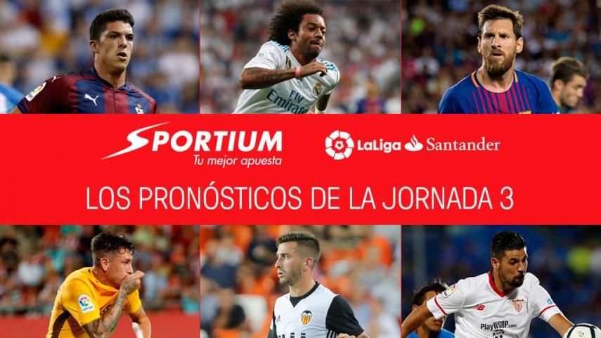 Las recomendaciones de Sportium para la jornada 3 de LaLiga Santander