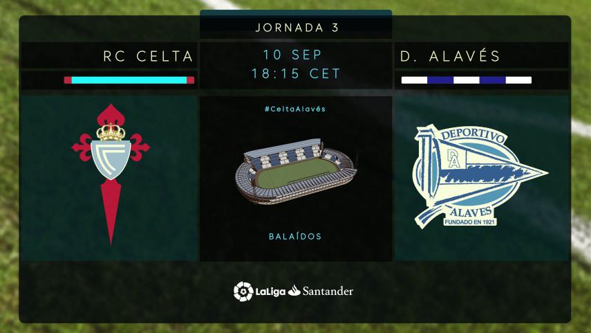 Celta y Alavés buscan su primera alegría de la temporada