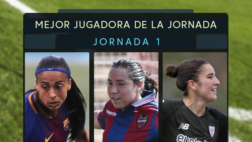 ¿Quién fue la mejor jugadora de la jornada 1 de la Liga Femenina Iberdrola?